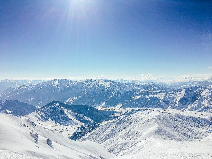 Gudauri'ye Gitmek için 10 Sebep - Dağ manzarası