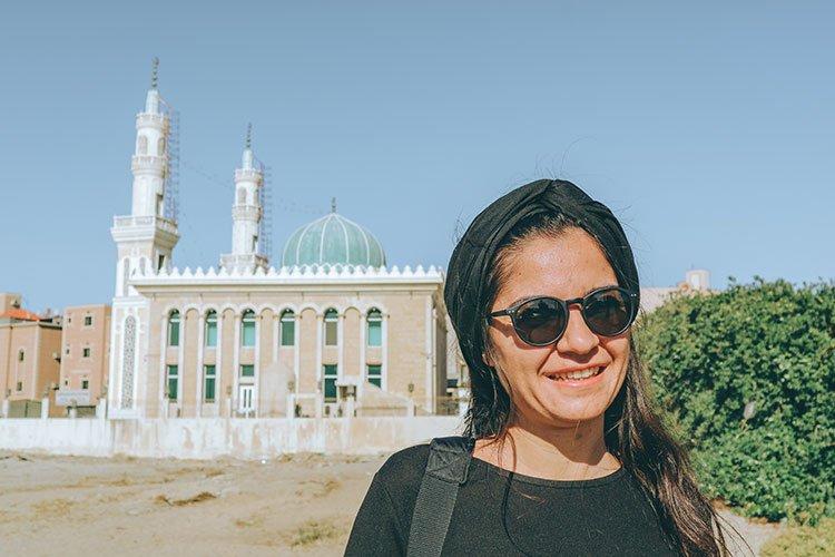 Suudi Arabistan'da kadın turist
