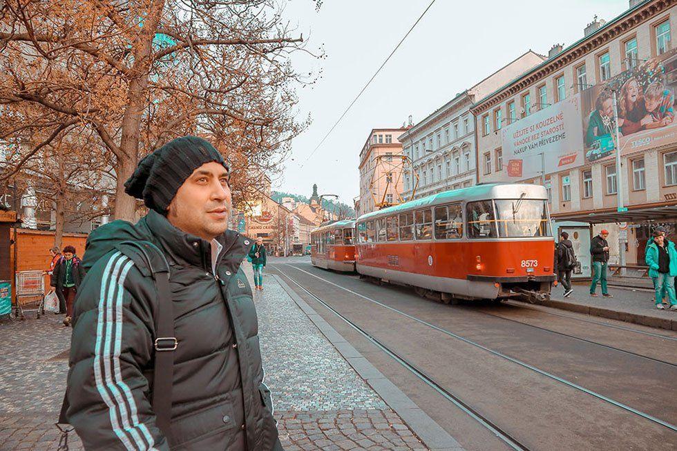 Prag ulaşım rehberi tramway