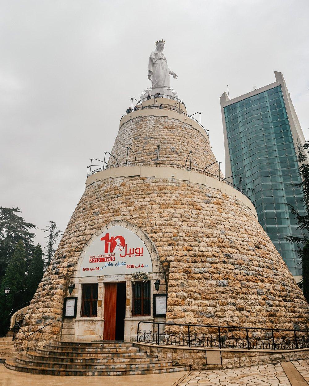 Lübnan gezi planı - Harissa tepesi