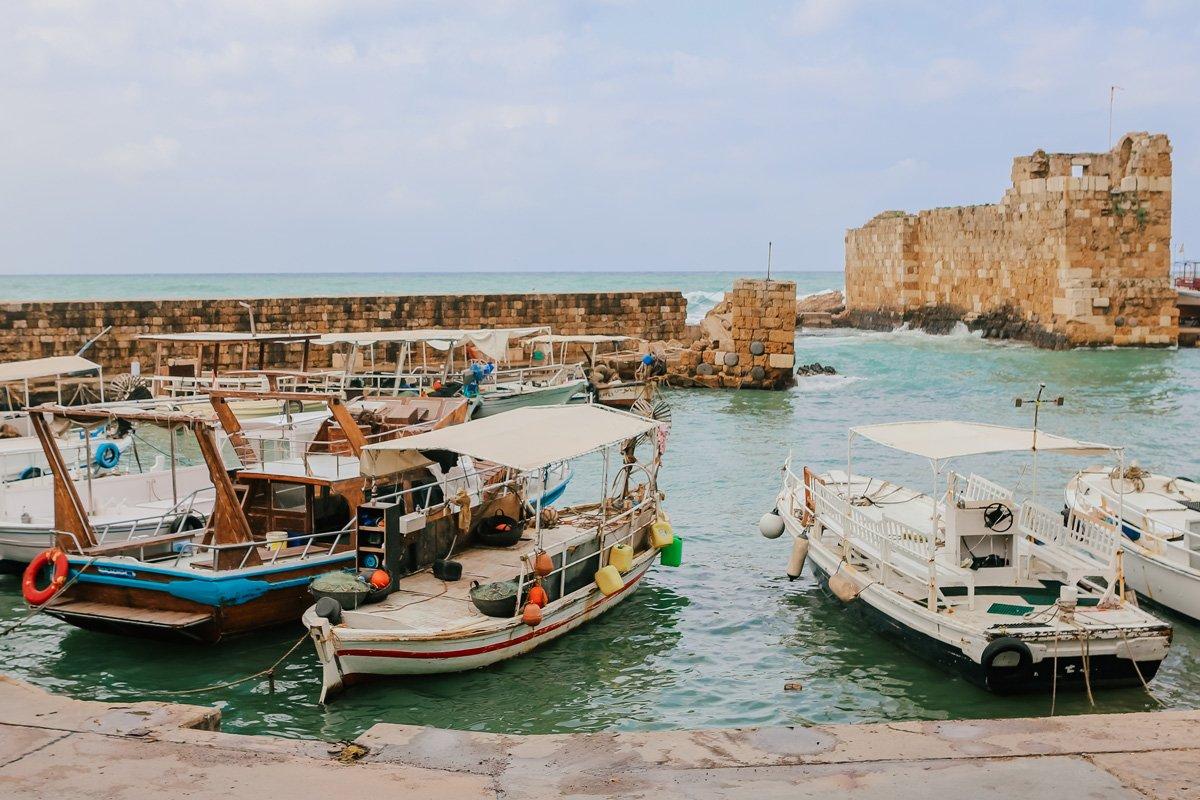 Lübnan gezi planı - Byblos sahili