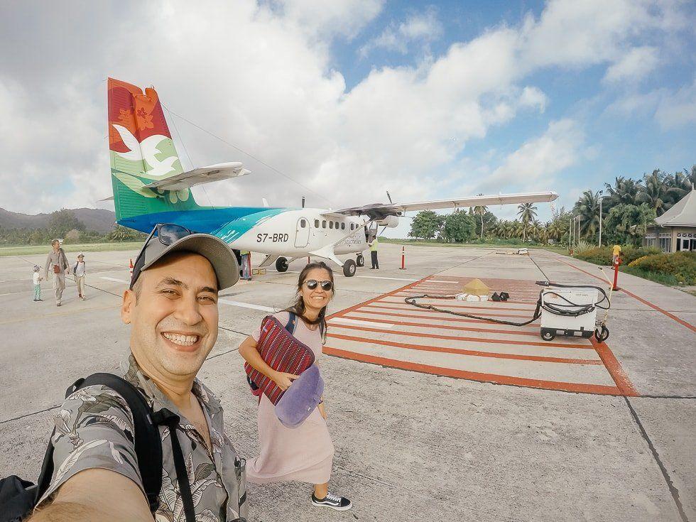 Seyşeller'de Ulaşım pır pır uçak