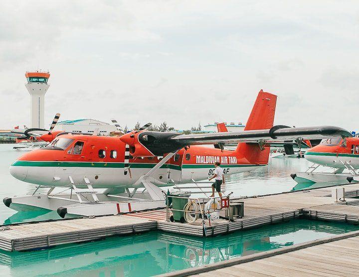 Maldivler gezi notları - pırpır uçak