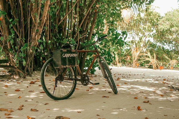 Maldivler gezi notlari - ada içinde bisiklet