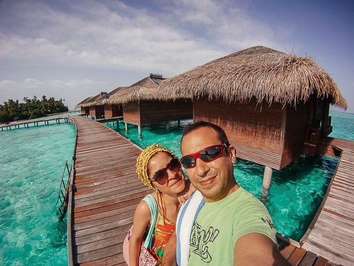 Maldivler balayı water bungalow