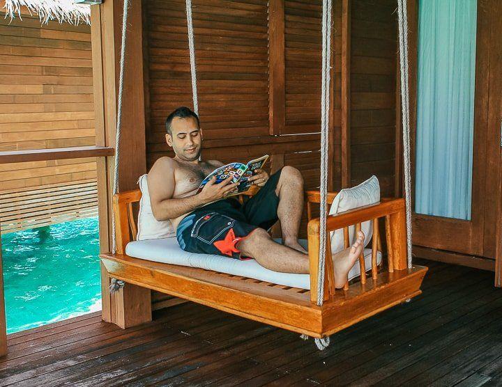 Maldivler water bungalow 2