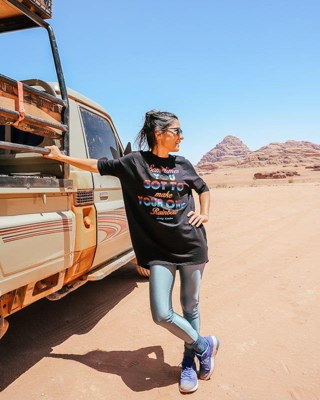 Wadi rum ürdün jeep safari turu