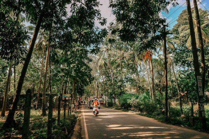 Güney Goa ulaşım kirsal yol