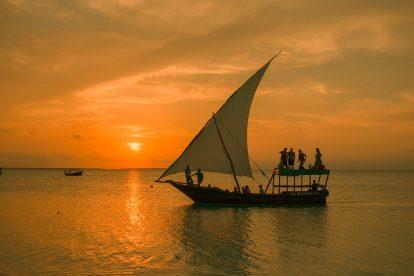 Zanzibar sunset cruise dhow Nungwi
