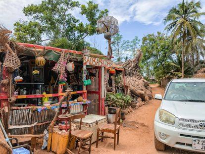 Zanzibar travel guide road Kizimkazi cafe